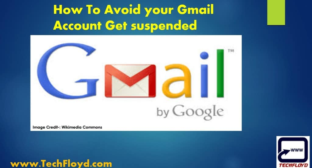 How To Avoid your Gmail Account Get suspended