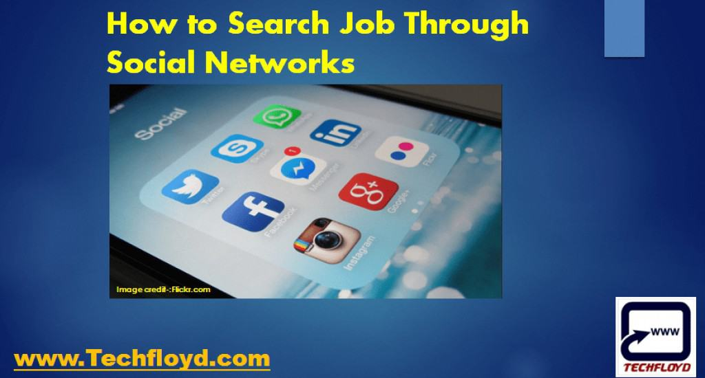 How to Search Job Through Social Networks