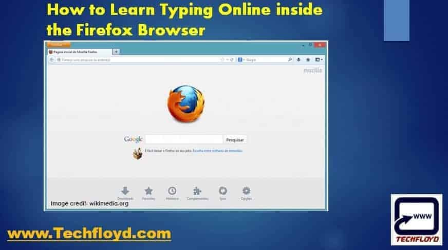 How to Learn Typing Online inside the Firefox Browser