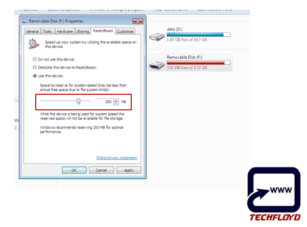 Increase RAM unsing Pendrive