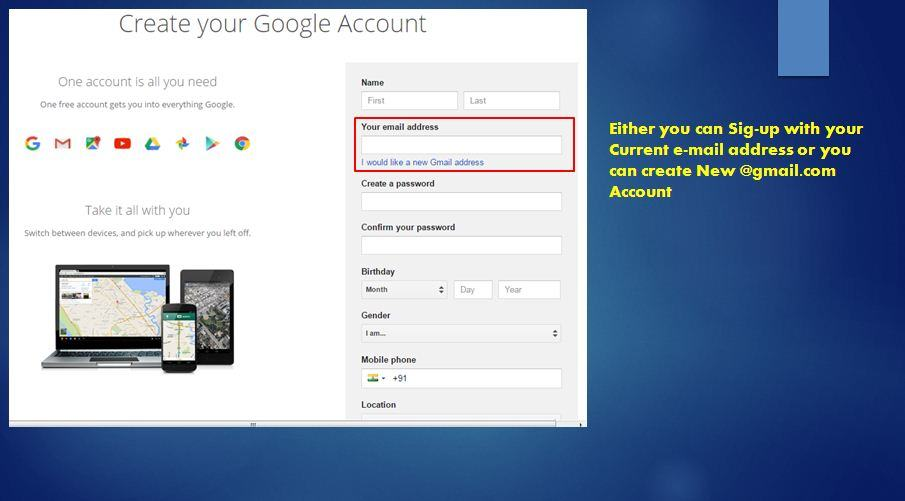 How to Use Google Services Without Gmail Account