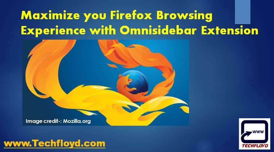 Omnisidebar Firefox Extension