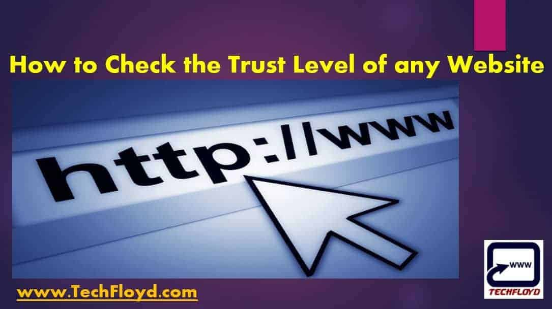 check-the-trust-level-website