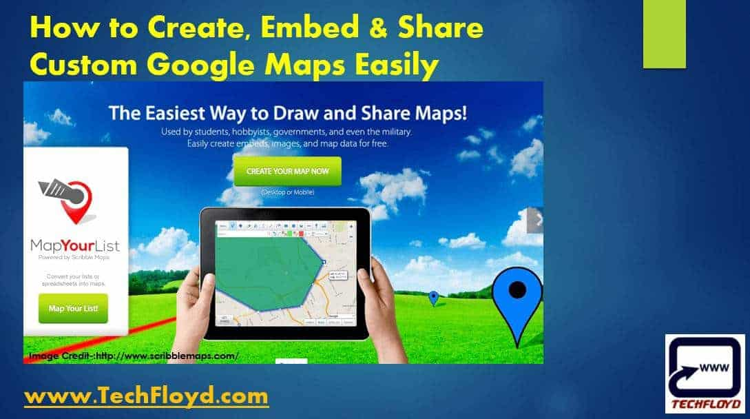 How to Create, Embed & Share Custom Google Maps Easily