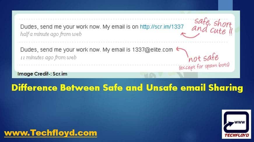 share-email-address-online