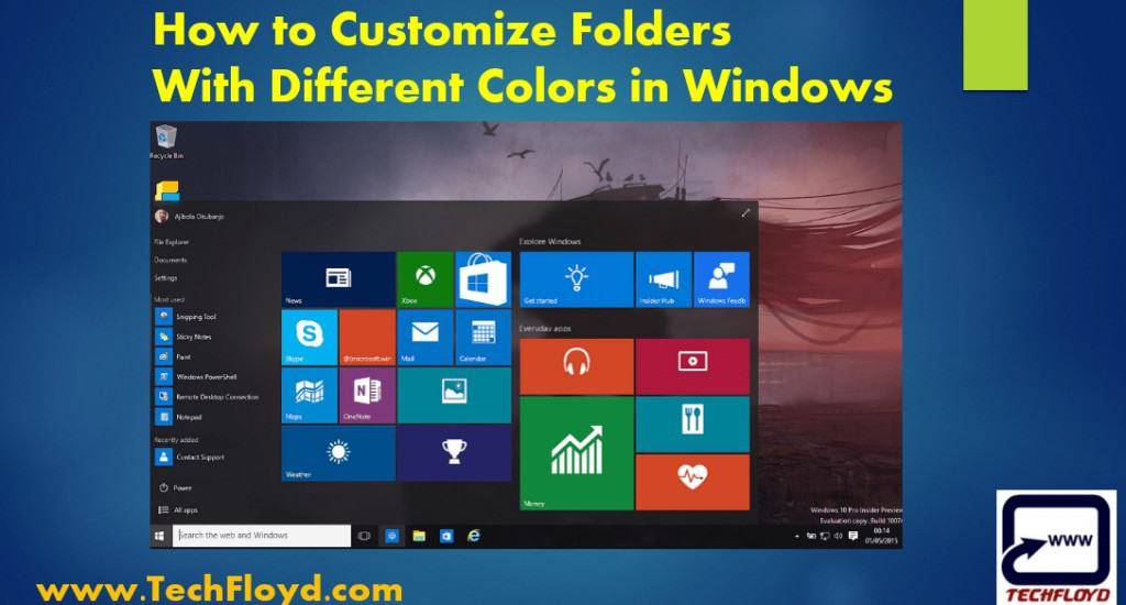 How to Customize Folders With Different Colors in Windows
