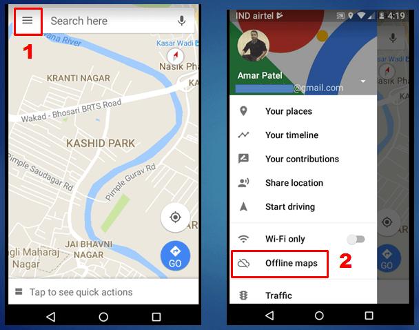 google-map-offline