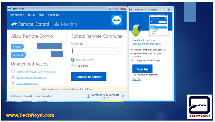 How Remotely Access another Computer Using TeamViewer