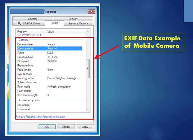 What is EXIF Data?
