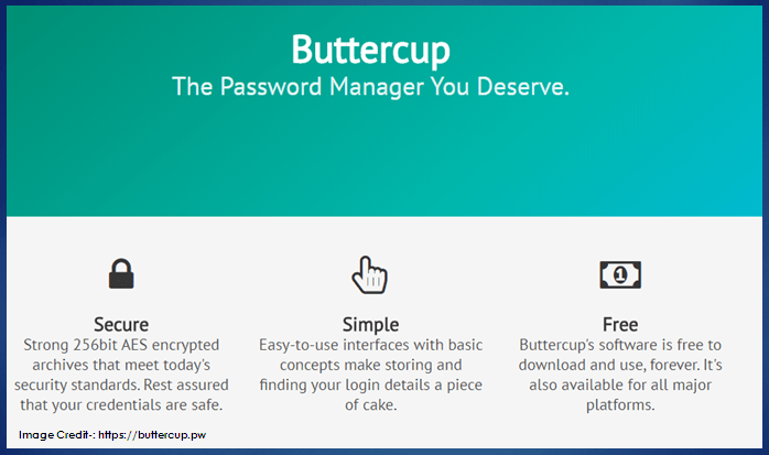 Buttercup A Simple, Cross-Platform and Free Password Manager